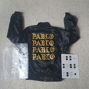 Kanye west- Pablo tour bomber jacket